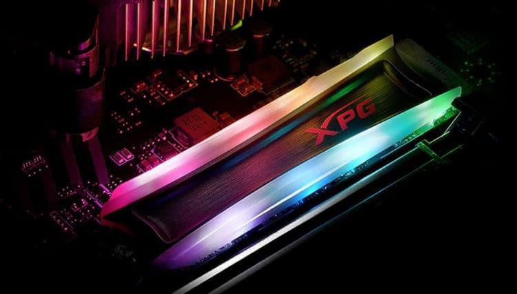 XPG Spectrix S40G RGB SSD Şimdi Stoklarda
