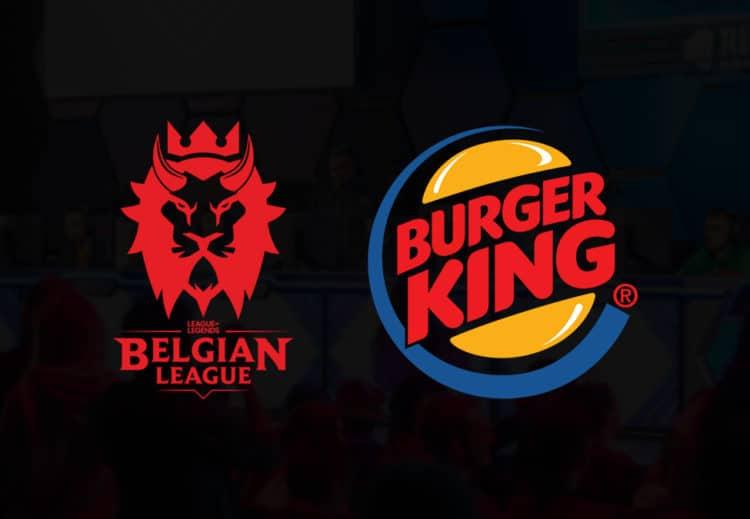 Burger King, Belçika League of Legends Ligi Resmi Sponsoru Oldu
