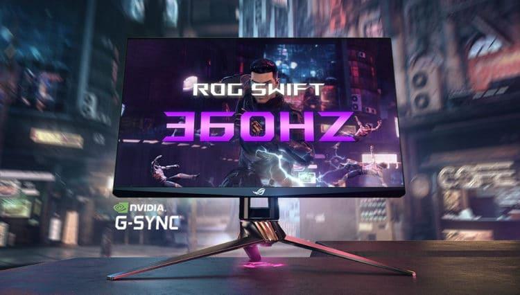 Dünyanın İlk 360Hz Monitörü ROG Swift 360Hz Tanıtıldı