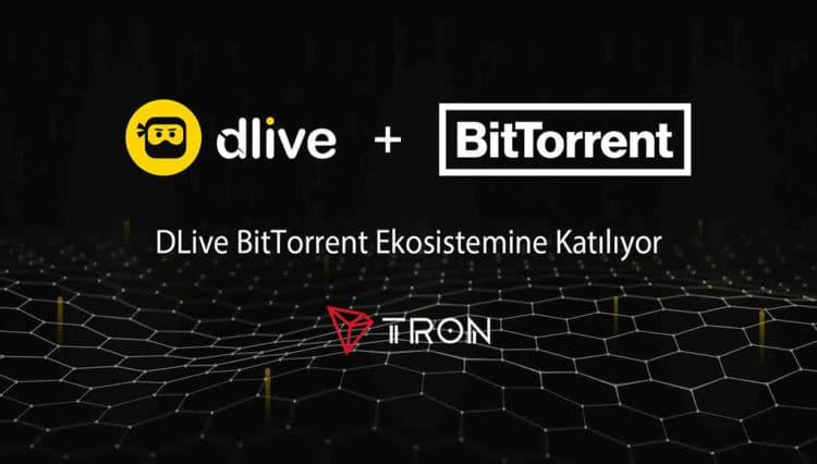 DLive, BitTorrent Ekosistemine Katılıyor
