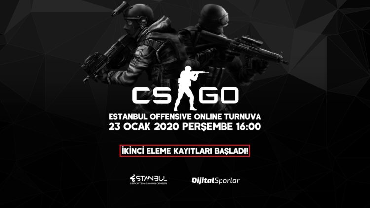 Estanbul Offensive CS:GO Turnuvası 2. Eleme Kayıtları Başladı