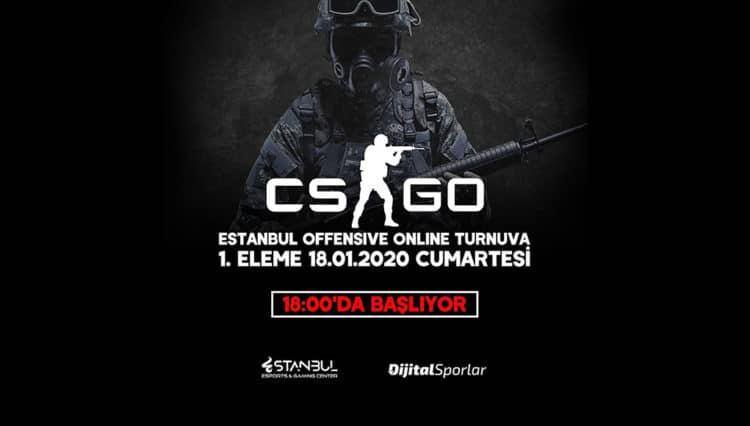 Estanbul Offensive CS:GO Turnuvası 5v5 Başlıyor