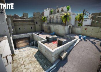 Dust 2 Haritası Fortnite Creative İle Yeniden Oluşturuldu