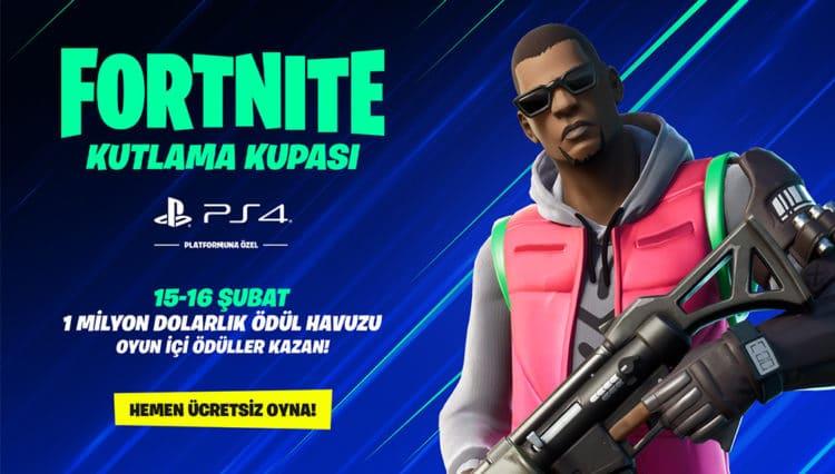 PlayStation 4 Platformuna Özel Fortnite Kutlama Kupası Başlıyor