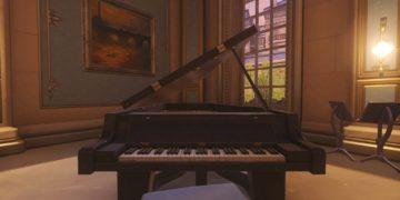 Overwatch Paris Piyanosunda Müzik Çalmak Artık Daha Kolay