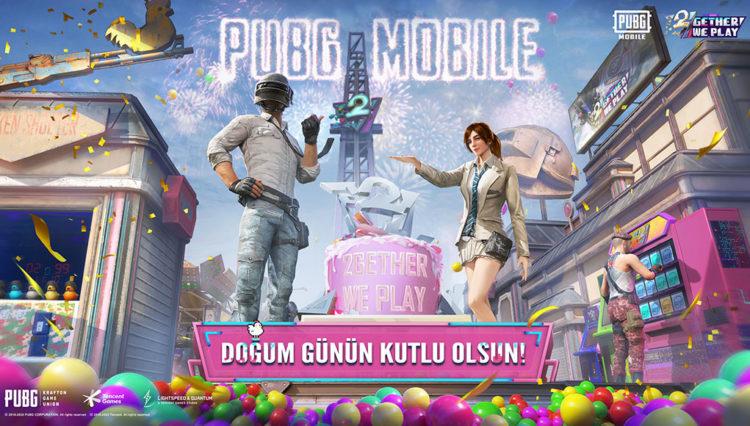 PUBG MOBILE, 1 NUMARA OL Sloganıyla 2. Yaşını Kutladı