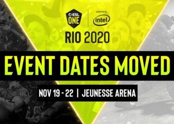 2020'nin Tek Major Etkinliği ESL One Rio, Kasım'a Ertelendi