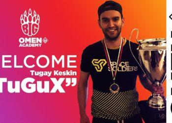 TuGuX, BIG OMEN Academy Takımının Başına Geçti