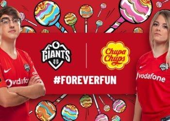 Chupa Chups, Vodafone Giants İle Sponsorluk Anlaşması İmzaladı