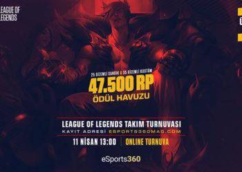 eSports360 Weekend League of Legends Turnuvası 2 Kayıtları Başladı
