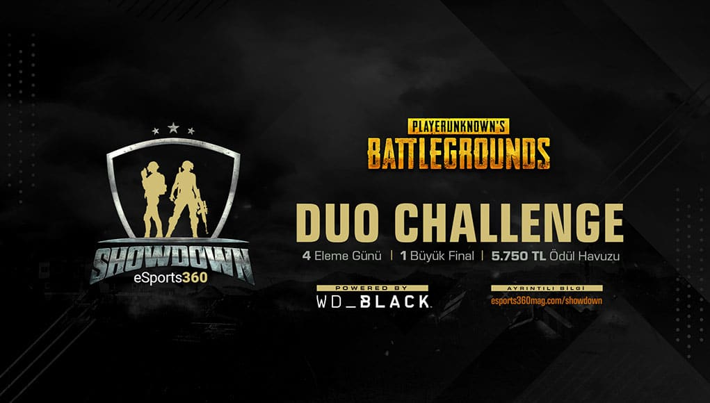 WD Black ile eSports360 SHOWDOWN Başlıyor