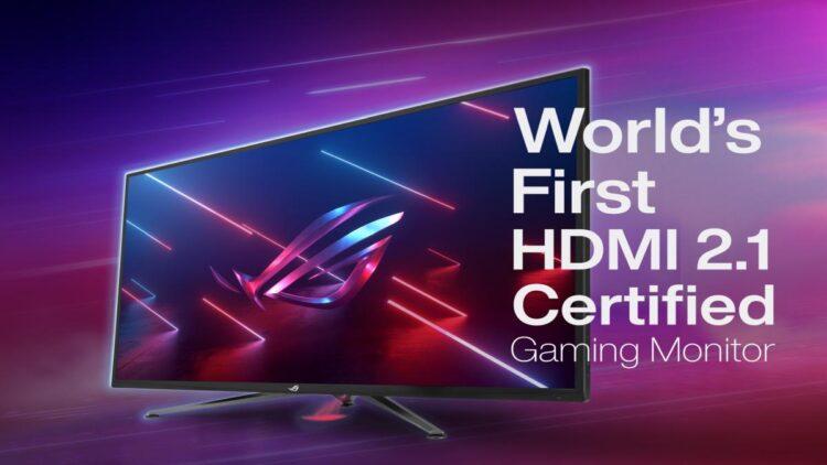 ROG, dünyanın ilk HDMI 2.1 sertifikalı 4K 120 Hz oyuncu monitörünü duyurdu