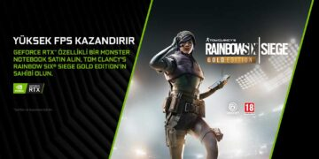 Monster Notebook ve NVIDIA, Rainbow Six Siege Gold Edition Hediye Ediyor