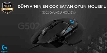 Dünyanın En Çok Satan Oyuncu Mouse'u: Logitech G502 HERO