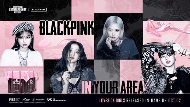 PUBG MOBILE x BLACKPINK İş Birliğiyle LOVESICK GIRLS Şarkısı Oyuna Eklendi