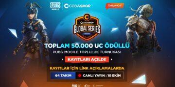 50.000 UC'lik PUBG Mobile Turnuvası Başlıyor