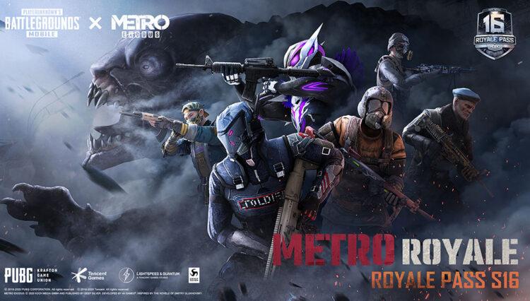 PUBG MOBILE Royale Pass Sezon 16, METRO EXODUS İş Birliğiyle Geliyor