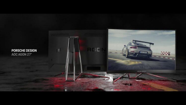 Porsche Design ve AOC, Porsche Design AOC AGON PD27 modelini piyasaya çıkartıyor