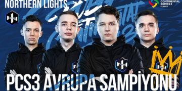 PCS3 Avrupa Büyük Finalleri Şampiyonu Northern Lights