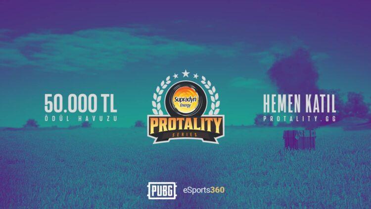 50.000 TL Ödül Havuzlu Supradyn Energy PUBG Protality Series İçin Kayıtlar Açıldı