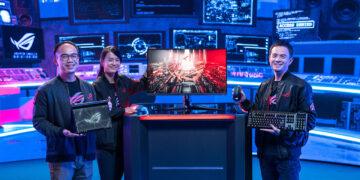 ASUS Republic of Gamers, CES 2021'de yeni oyuncu ekipmanlarını duyurdu