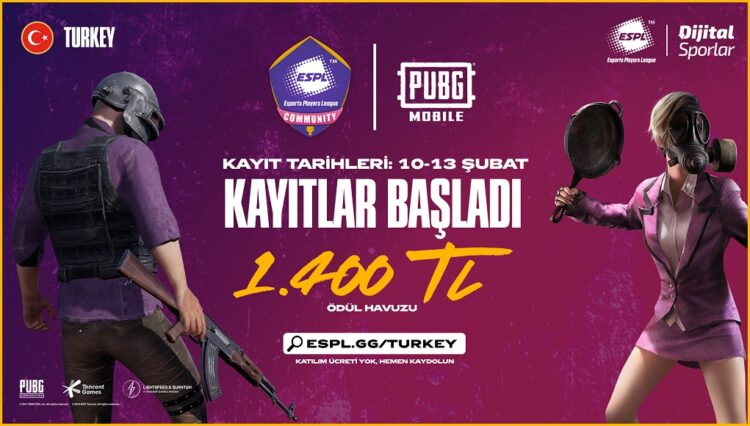 ESPL Turkey Daily Cups PUBG Mobile #1