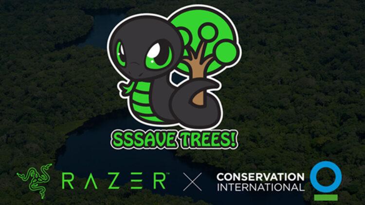 RAZER, SNEKI SNEK ile bir milyon ağacı kurtarmayı hedefliyor