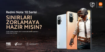Xiaomi Redmi Note 10 serisi ile PUBG MOBILE turnuvalarının sponsoru oldu