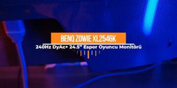 BenQ Zowie 24.5'' XL2546K Video İnceleme
