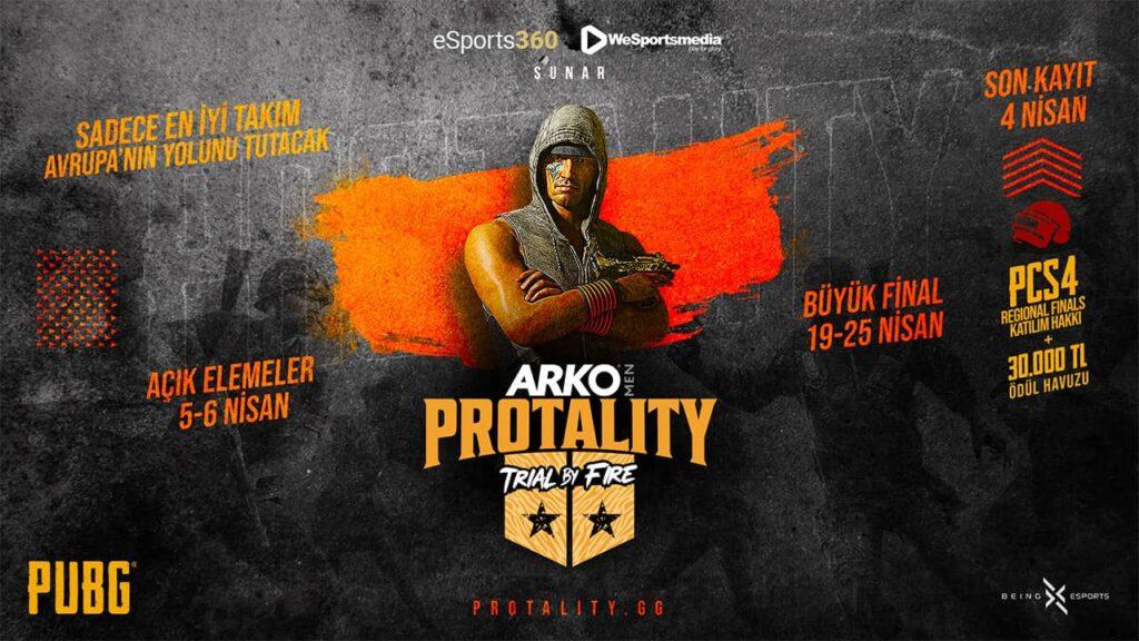 Şampiyonun Yolculuğu ARKO MEN PROTALITY: Trial by Fire ile Avrupa'ya Uzanıyor