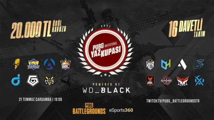 WD Black Invitational Yaz Kupası Başlıyor