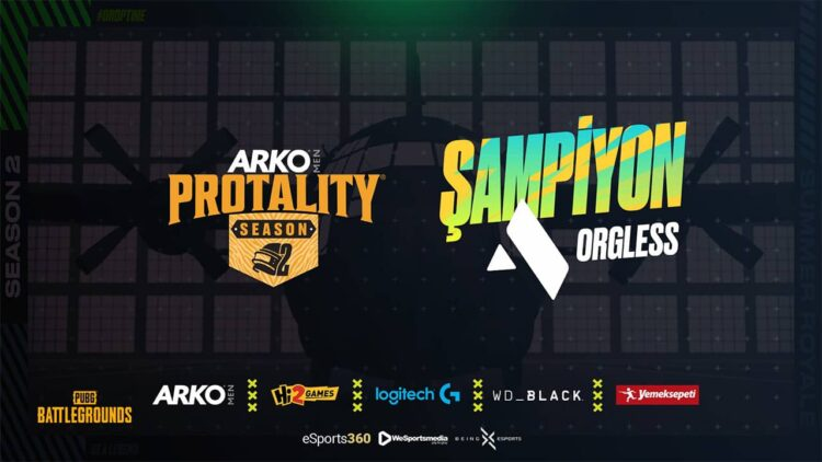ARKO MEN Protality Sezon 2 Şampiyonu ORGLESS